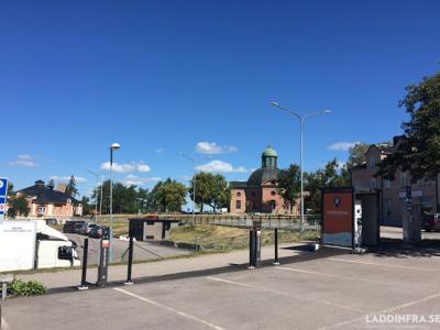 Bilde av ladestasjonen.